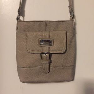Tan Nine West Crossbody Bag